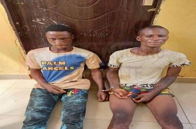 Suspected Burglars Who Specialize In Breaking Into Homes On Sundays When Owners Are In Church Apprehended In Edo (Photo)
