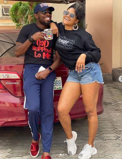 Timi Dakolo And Wife, Busola Celebrate 9th Wedding Anniversary