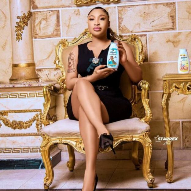 Tonto Dikeh Becomes Face of Skincare Product Days After Being Dumped by NCPC