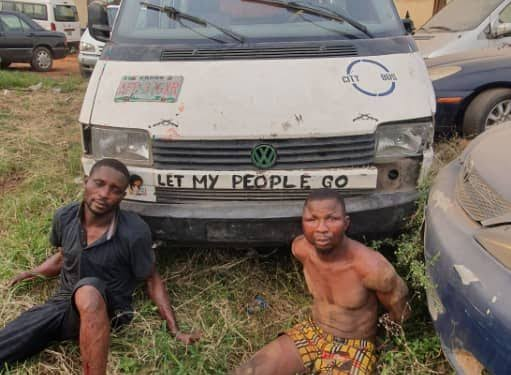 Two Suspected Armed Robbers Arrested After Engaging Police In Gun Battle In Ogun