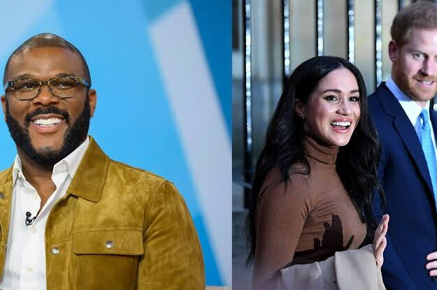 Tyler Perry Gave Prince Harry & Meghan His Home And Security When Royal Family Wouldn't