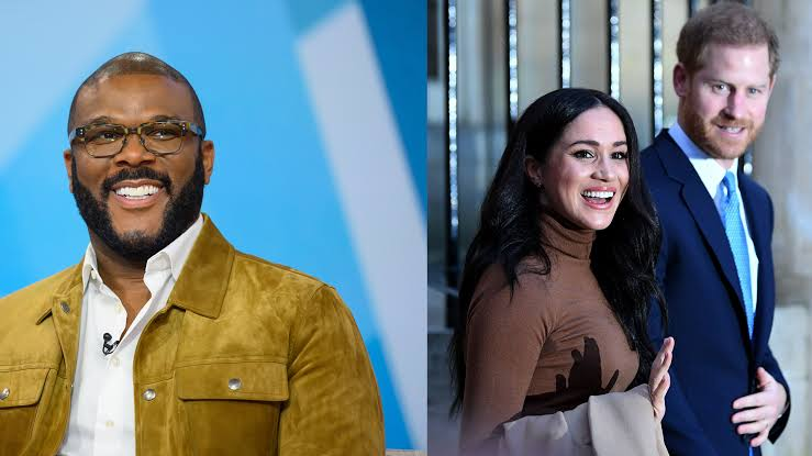 Tyler Perry Gave Prince Harry & Meghan His Home And Security When Royal Family Wouldn't 1