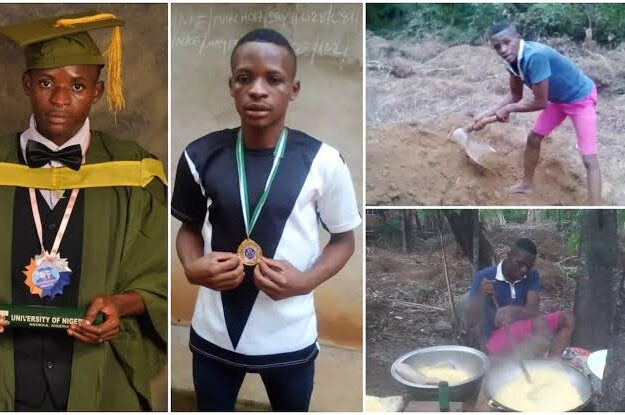 Viral UNN First-Class Graduate Turned Farmer, Bags PhD Scholarship In US