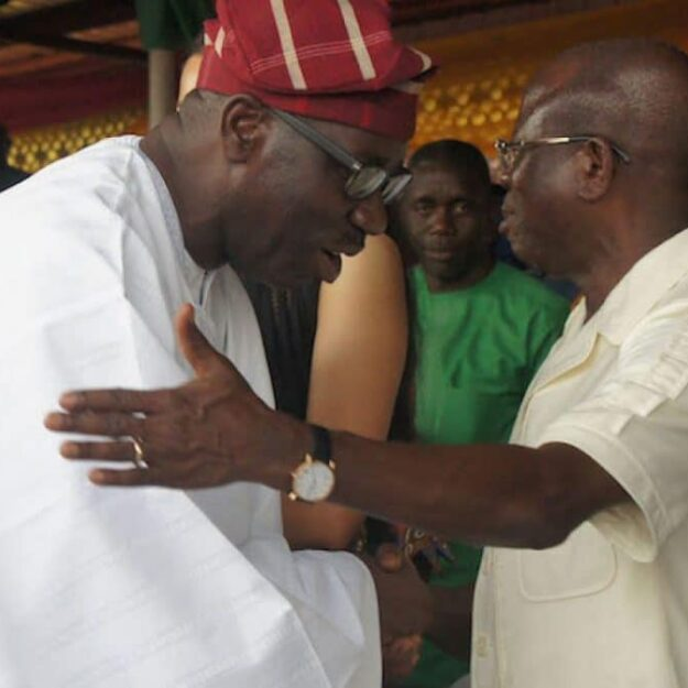 We are brothers – Oshiomhole makes peace with Gov Obaseki