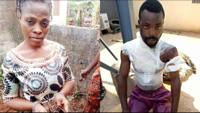 Woman Kills Her Own Child, Bathes Husband With Hot Water Over Alleged Drunkness 1