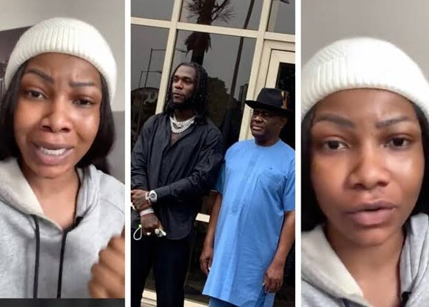 """You Are Mad"" – Tacha Slams Nigerians Criticising Governor Wike's Gifts To Burna Boy [Video]"