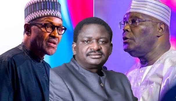 """You Are Part Of Nigeria's Problem"" - Femi Adesina Slams Atiku Over Attack On Buhari 1"