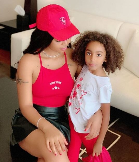 """You Are The Best Step-mom"" – Regina Daniels Shares Note She Got From Her Step-daughter"