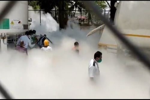 22 COVID-19 Patients Killed After Oxygen Leak In India (Video)