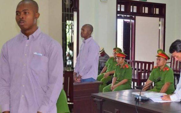 25-Year-Old Nigerian Man Sentenced To Death For Drug Trafficking In Vietnam [Photos]