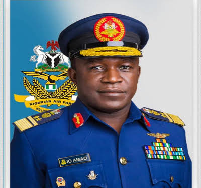 Airforce Chief arrives Maiduguri over missing jet