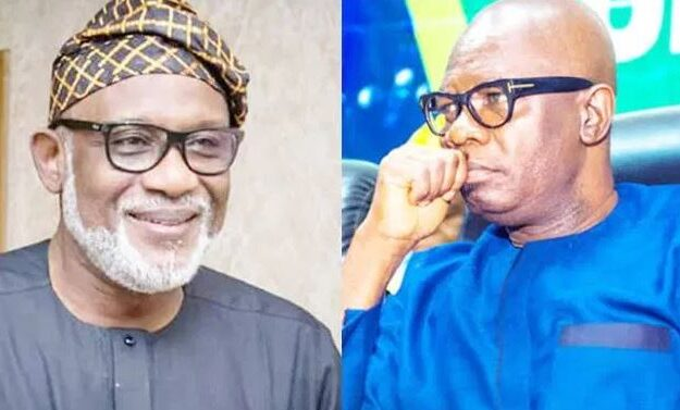 Akeredolu Threatens To Embarrass Former Deputy Gov Over Failure To Return Govt Vehicles