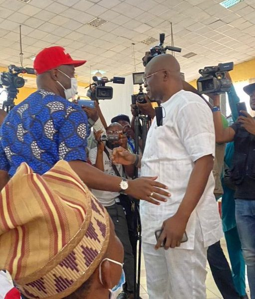 'All hail my leader' – Fayose accepts Makinde as South-West PDP leader