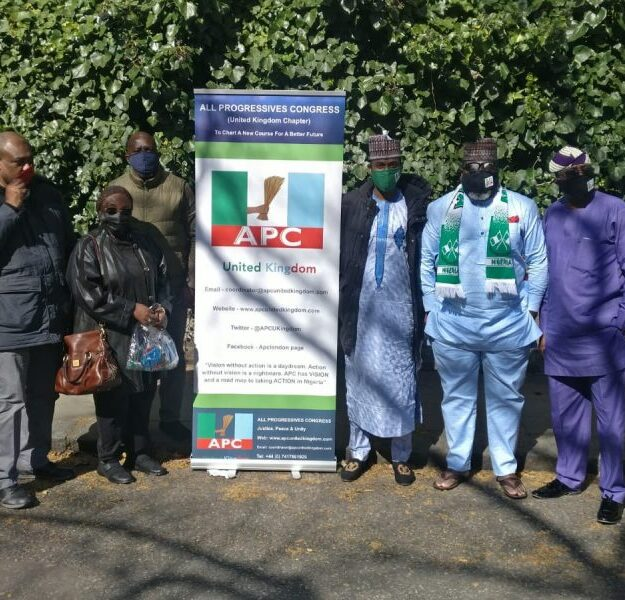 APC Stages Pro-Buhari Rally In London (Photos, Video)