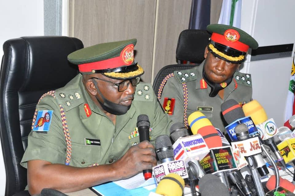 Brigadier General Mohammed Yerima, Director, Army Public Relations
