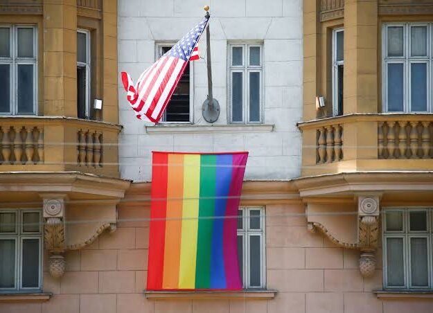 Biden orders US Embassies to fly Gay Pride flag