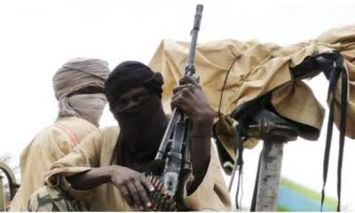 BREAKING: Bandits Break Into Military Camp In Niger State, Set Vehicles Ablaze