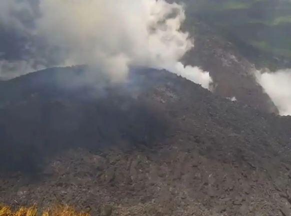 BREAKING: Many Nigerians Trapped As Volcano Hits Caribbean Island