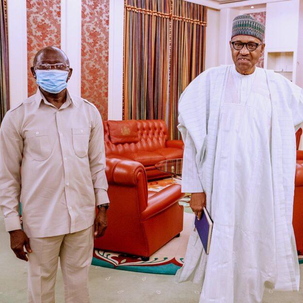 Buhari asks Oshiomhole to eschew politics of division