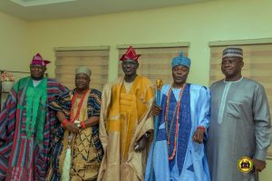 Buratai Receives Royal Solidarity As Oluwo Of Kuta, Others Attend Late Col. Fayemiwo's Burial