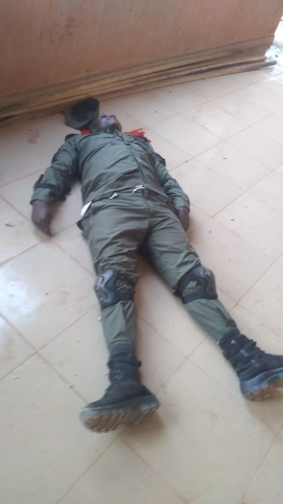 Charles Soludo Attack: Pictures of the gunmen attack on former CBN Governor Chukwuma Soludo 5
