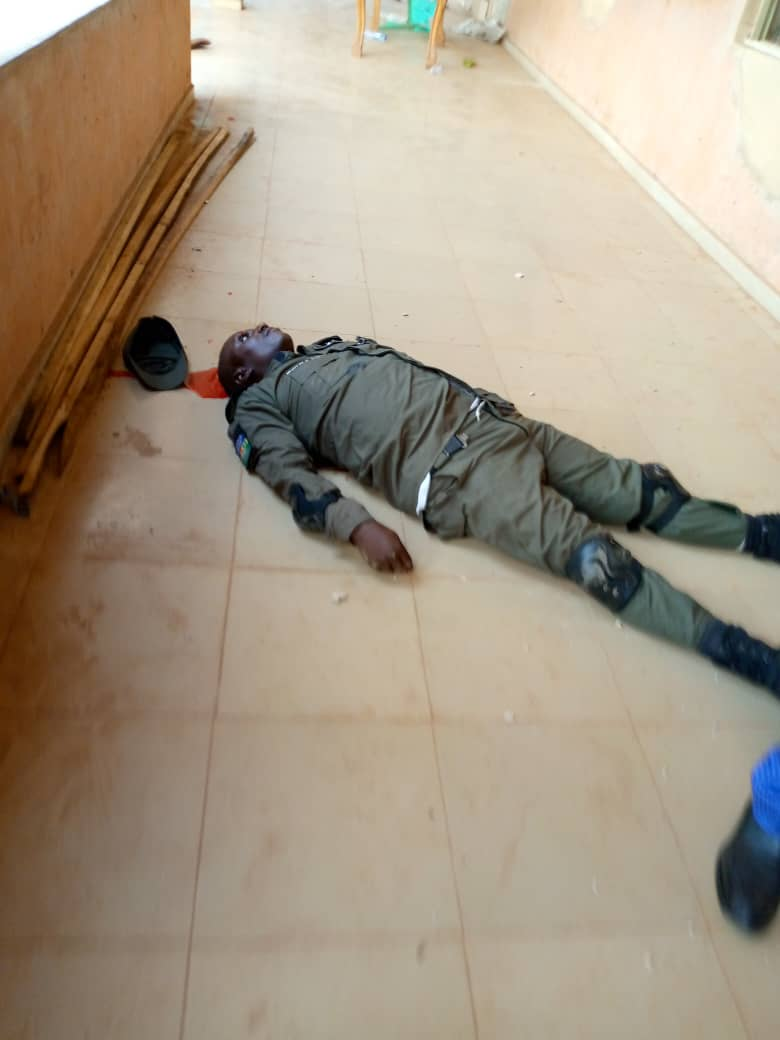 Charles Soludo Attack: Pictures of the gunmen attack on former CBN Governor Chukwuma Soludo 8