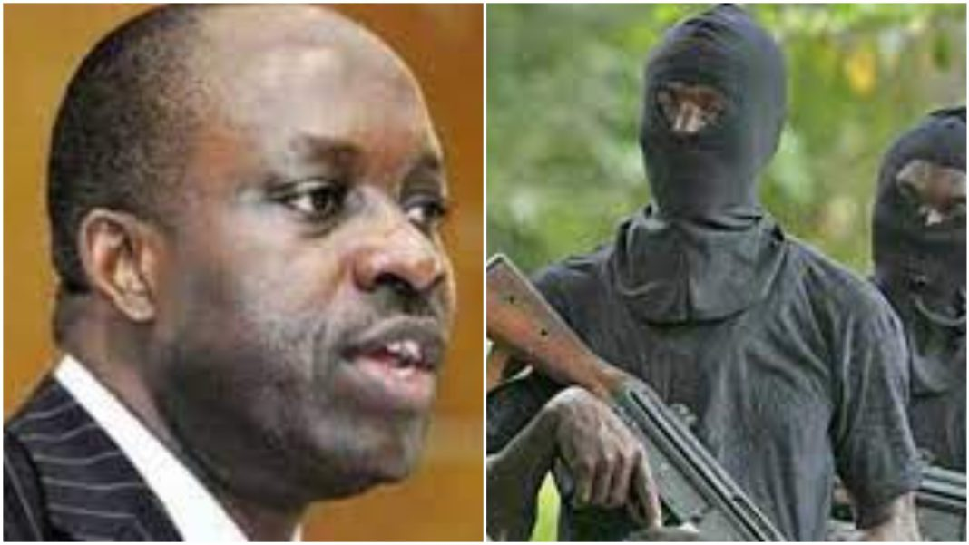 Charles Soludo Attack: Pictures of the gunmen attack on former CBN Governor Chukwuma Soludo 1
