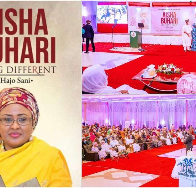 Dangote, Tinubu, Rabiu, Others Donates Over N216 Million At Aisha Buhari's Book Launch
