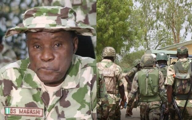"""Don't Be Afraid Of Bullets, It Will Never Kill You"" – Defence Minister Tells Nigerian Soldiers"
