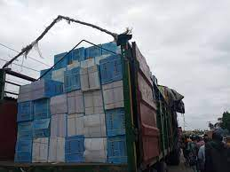 Drama As Truck Filled With Banned And Unwholesome Drugs Gets Intercepted In Delta