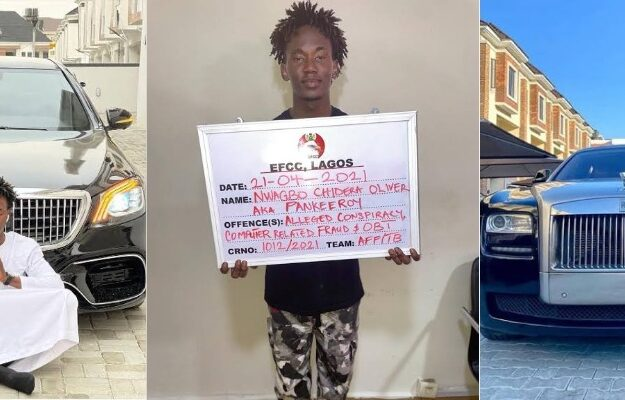 EFCC Arrests Popular Instagram Comedian, Pankeeroy For Alleged Internet Fraud In Lagos