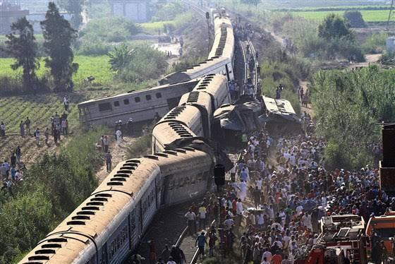 Egypt replaces railway authority head following deadly accidents