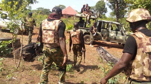 Federal troop massacre Boko Haram terrorists on Gwoza Mountain