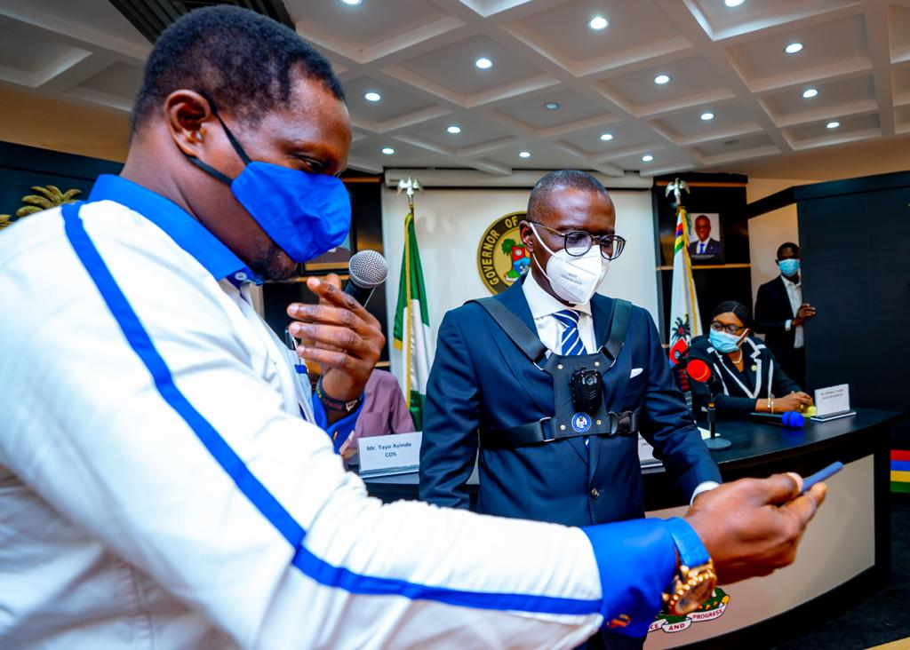Governor Sanwo-Olu Unveils Body Cameras To Be Worn By Security Personnel In Lagos [Photos] 10