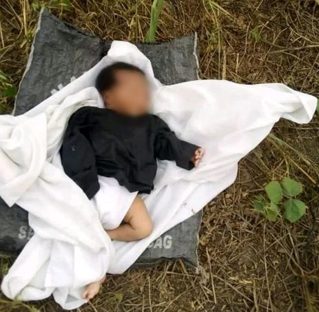 Heartbreaking!! Abandoned 4-day-old Baby Found Crying In Bush In Delta Community