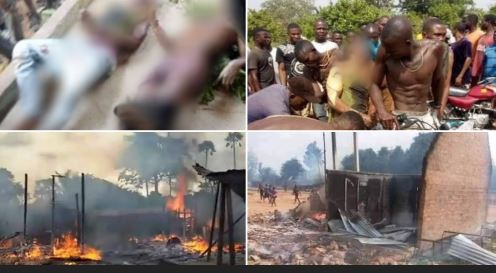 How Nigerian Soldiers Killed Over 70 Innocent Persons, Demolished Farms, Schools, Hospitals – Benue Residents