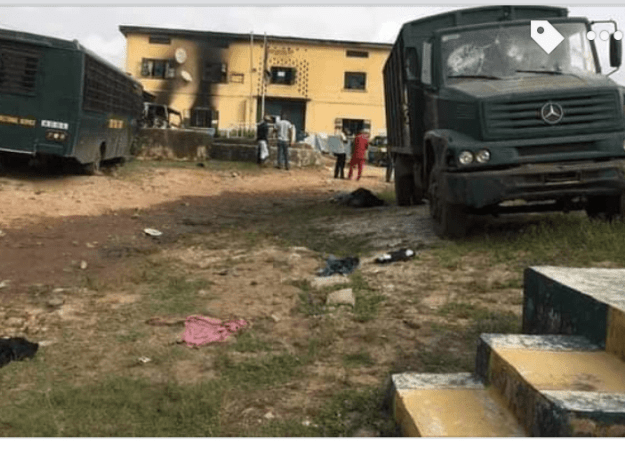 Imo Prison Attack: 1,844 inmates escaped – authorities