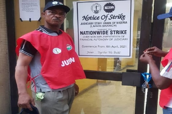 JUSUN begins nationwide strike, disrupt judicial activities