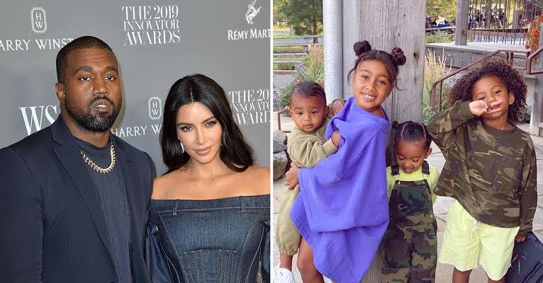 Kanye West Responds To Kim Kardashian's Divorce Filing, Agrees On Joint Children Custody 1