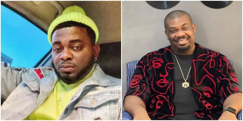 Kelly Hansome Accuses Don Jazzy Of Arresting Him With SARS, Intimidating Him With Dogs 1