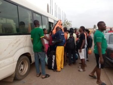 Kwara team departs for Edo with 233-man contingent for National Sports Festival