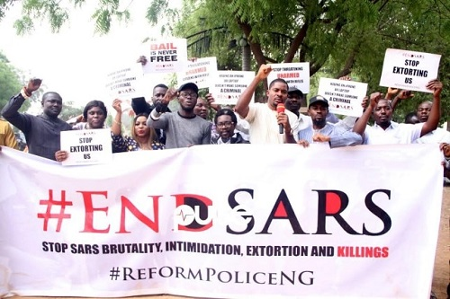 Lagos Panel: #EndSars activist presents evidence of Army/Police shooting with live bullets at unarmed protesters at Lekki