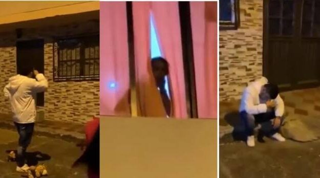 Man Goes To Propose To His Girlfriend, But Catches Her Having Sεx With Another Man [Video]
