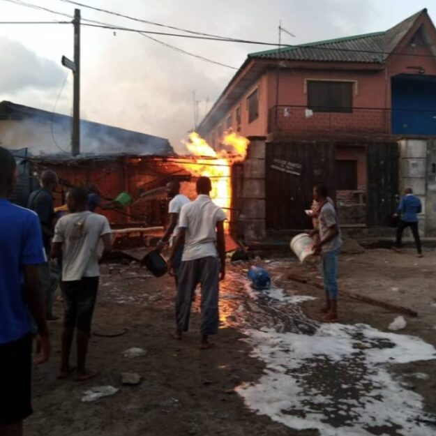 Many injured as gas explosion rocks Amuwo Odofin, Lagos