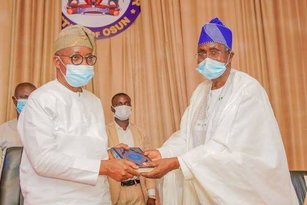 MUSWEN to Oyetola: Your administration has proved justice, fairness, equity in governance