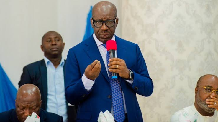 Nigeria Is In Huge Financial Trouble, FG Printed N60bn To Share In March - Governor Obaseki 1
