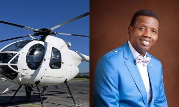 Nigerian Government Suspends Pastor Adeboye's Helicopter From Flying, Gives Reason