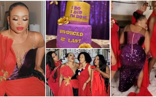 Nigerian Lady, Dr Ikea Bello Throws Lavish Party To Celebrate Her Divorce [Photos/Video]