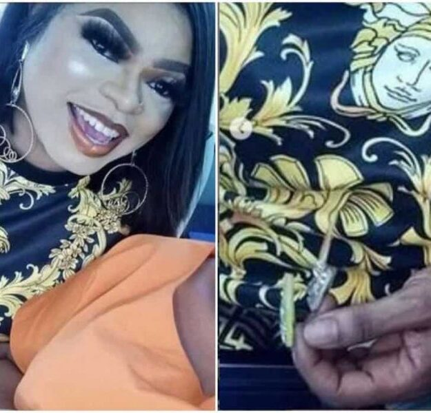 Nigerians Mock Bobrisky For Using A Fake Skincare Product