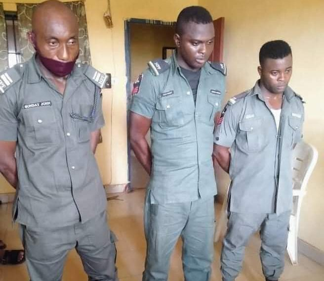 The police officers fired for extorting LASU student